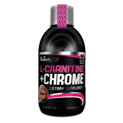 Liquid L-Carnitin + Chrome 500 ml
