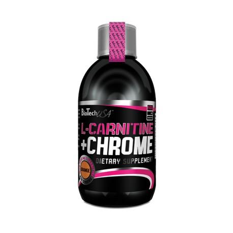 Liquid L-Carnitin + Chrome 500 ml
