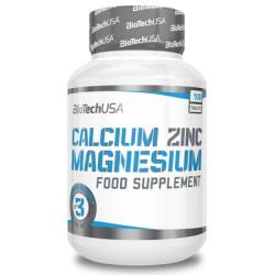 Calcium Zinc Magnesium 100 tablete