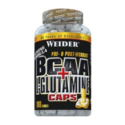 BCAA + L-Glutamine 180 capsule